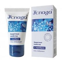 Антибактериальная смазка на водной основе УСЛАДА с серебром (30 г)