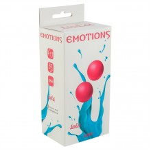 Вагинальные шарики без сцепки Emotions Lexy Large , Pink