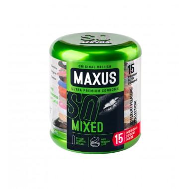 Презервативы MAXUS Mixed   - 15 шт.