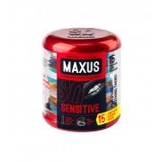 Презервативы MAXUS Sensitive - 15 шт.