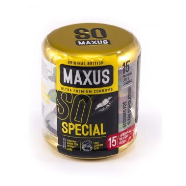 Презервативы MAXUS SPECIAL - 15 шт.