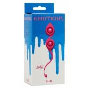 Вагинальные шарики со смещенным центром Emotions Gi - Gi Pink