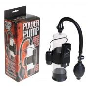 Вибропомпа Power Pump  ( 19,5 см; черный с прозрачным)