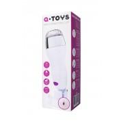 Мастурбатор с вибрацией и подогревом на креплении A-Toys со звуковым сопровождением (12 режимов)