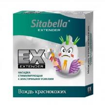 """Стимулирующий презерватив с эластичными усиками Sitabella Extender """"Вождь краснокожих"""""""