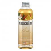 Тонизирующее массажное масло Masculan с цитрусовым ароматом , 200 мл.