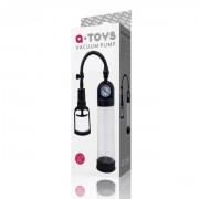Черная вакуумная помпа с манометром Vacuum Pump TOYFA A-TOYS