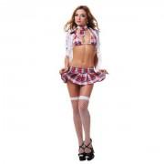 Эротический костюм Школьницы SM (42-44)