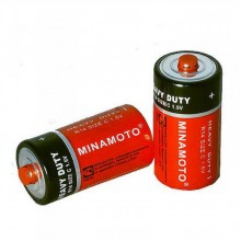 Батарейка R14 (C) 1,5 V MINAMOTO