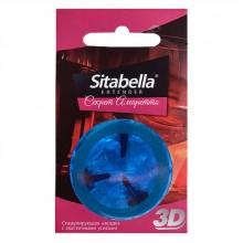 Насадка-презерватив стимулирующая «Sitabella Extender 3D Секрет амаретто»