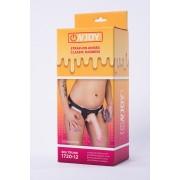 Страпон с реалистичной насадкой и вибрацией Onjoy Stap-on Unisex Classic Harness, Big Trunk (10 режимов)