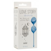 Вагинальные шарики Love Story One Thousand and One Nights Sky Blue