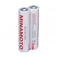 Батарейка щелочная MINAMOTO LR6 (АА) 1.5В (2 шт)